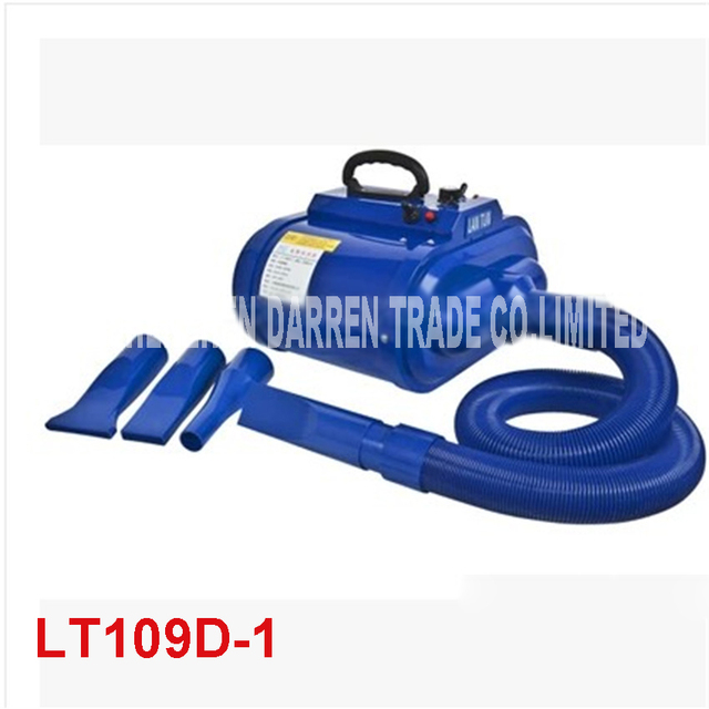 Dual Motor Low Noise stepless speed 3200 W Pet Hair Dryer LT-1090D-dander dog dryer  20m/s-85m/s