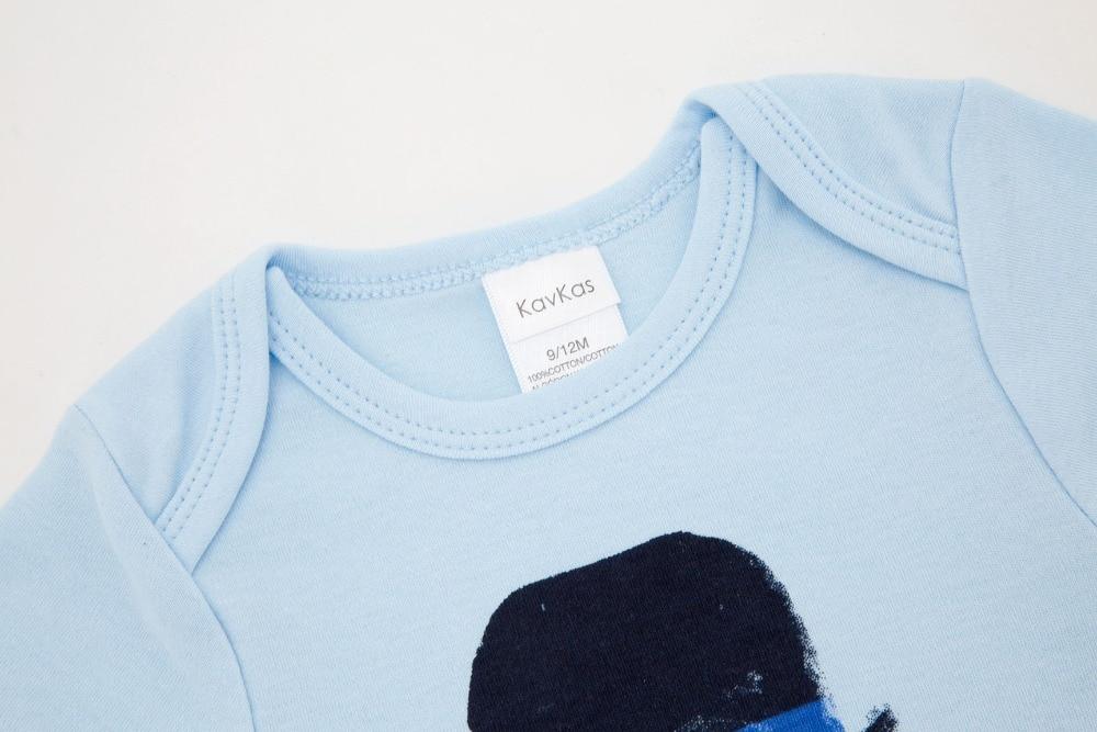 Kavkas 2018 sommar Baby pojke kläder kortärmad bomull Jumpsuits Baby ... 2bd1e75172615