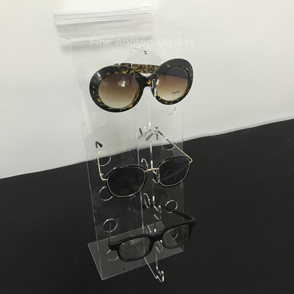 Slatwall Clear Acrylic Sunglasses Rack Display Holder Glasses Stand Holds 6 Pairs  Eyewear Jewelry ShelfSlatwall Clear Acrylic Sunglasses Rack Display Holder Glasses Stand Holds 6 Pairs  Eyewear Jewelry Shelf