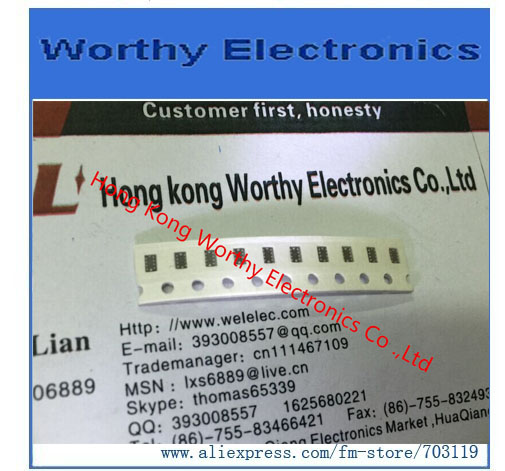 100 pieces Fixed Inductors 1uH 20/%
