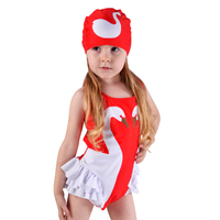 baby girls bathing suit two color Mosaic motion picture swimsuit Princess bathing suit