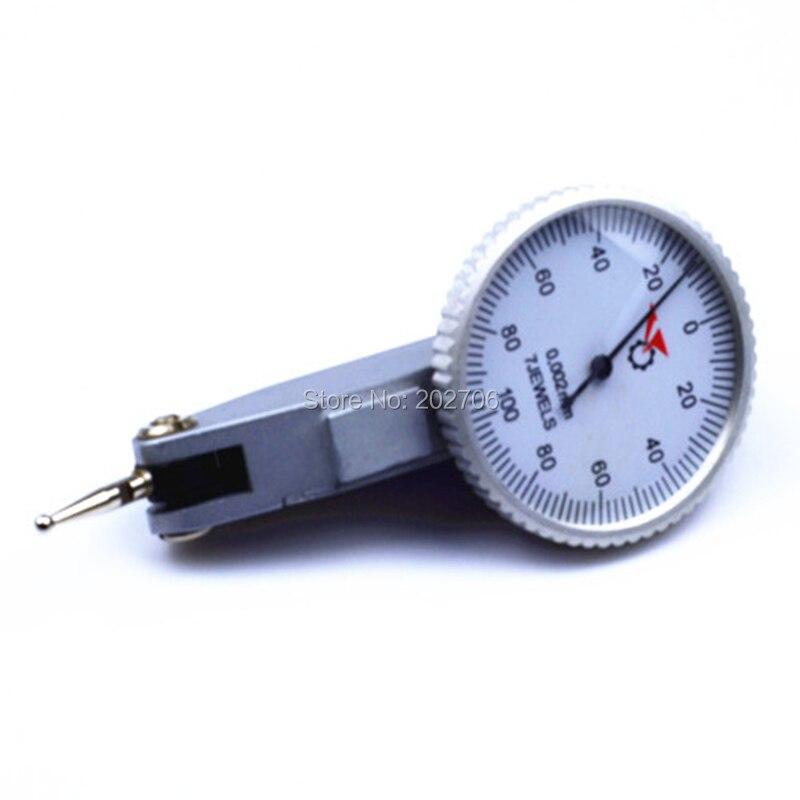 Большой размер магнитное основание и 0-0.8x0.01 мм Циферблат тестовый индикатор