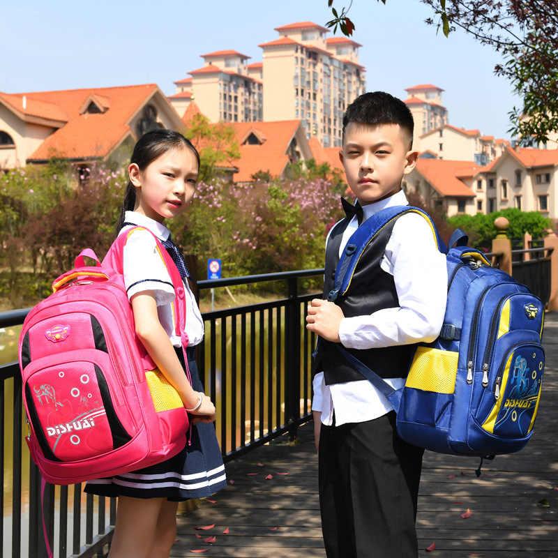 Crianças Escola bags para Meninos Meninas À Prova D' Água mochila Ortopédico Primário Mochila Crianças Sacos de Livro Mochila Crianças enfant sac
