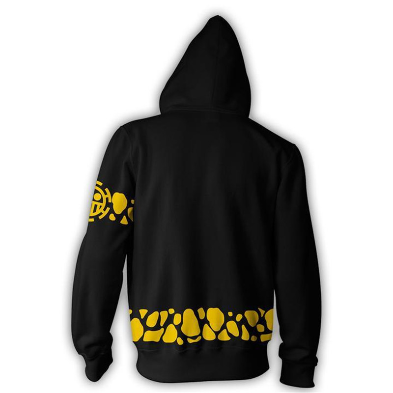 Image 3 - 3d Digital Printing ONE PIECE Trafalgar Law Costume Hoodie Cosplay Sweatshirts Clothing Costumes-in Movie & TV costumes from Novelty & Special Use