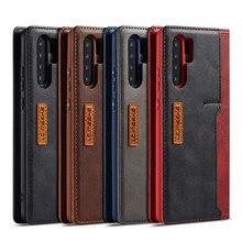 Coque de téléphone pour Huawei P30 P20 Pro Mate20 Lite magnétique véritable housse en cuir véritable étui à rabat pour Huawei Mate 20 Pro Coque