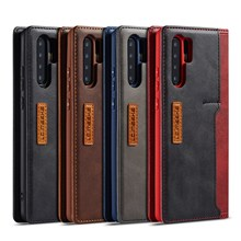 Etui na telefony dla Huawei P30 P20 Pro Mate20 Lite magnetyczne prawdziwe prawdziwej skóry pokrywa odwróć portfel przypadki dla Huawei Mate 20 Pro Coque