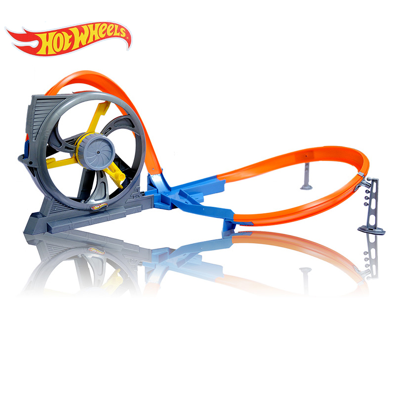 Hot Wheels Car Track Model Cars Toys For Boys 2017 Hotwheel Three-dimensional Swing Car Racing Train Educational Toy DNN72