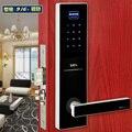 Fechadura da porta Digital com tela sensível ao toque senha fechaduras eletrônicas sensores para escritório e apartamento