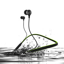 Bluetooth Earphone Wireless waterproof Sports Headset Neckband Stereo Magnetic Earphone With Microphone For Iphone Android yeindboo newest wireless headphones sports bluetooth earphone stereo magnetic bluetooth headset for phone xiaomi iphone android
