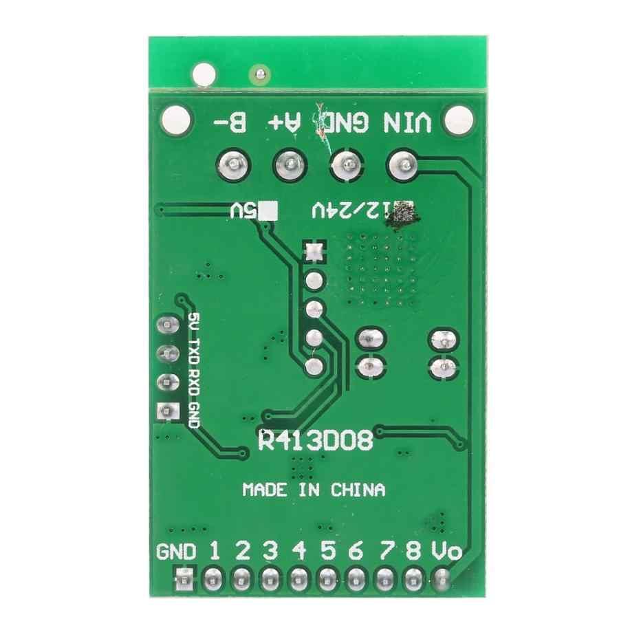DC 6-24V RS485 RS232 TTL RTU Mô Đun Điều Khiển 8 Kênh IO Điều Khiển UART Tiếp Công Tắc Ban Hỗ Trợ PLC Modbus Cho Arduino