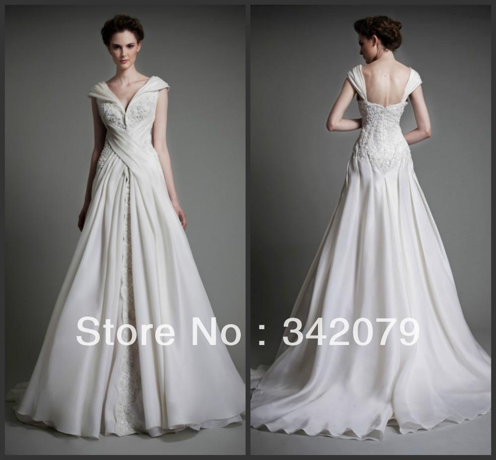 Haute Couture Wedding Dresses: Ph09499 Haute Couture Tony Ward V Neckline Wedding Dress