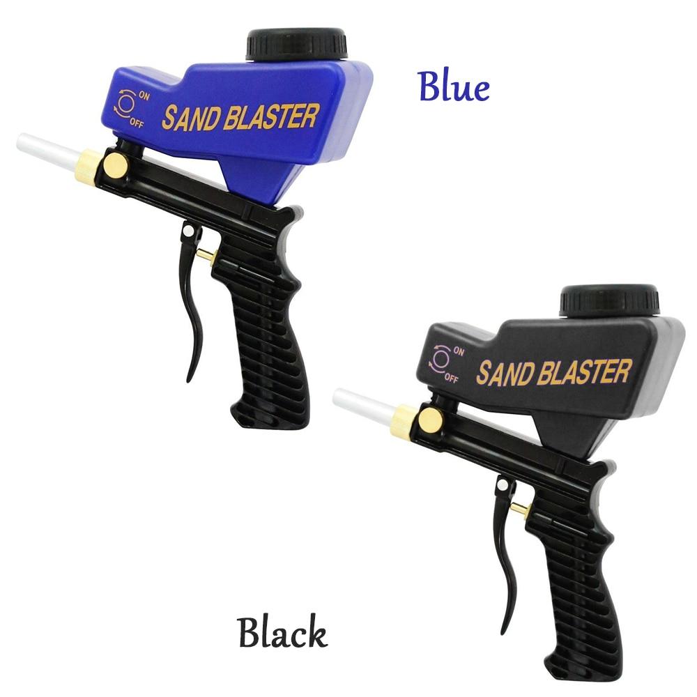 Anti rust Protection Spray Gun machine sand blaster Save unnecessary surface Material Adjust the sandblast flows