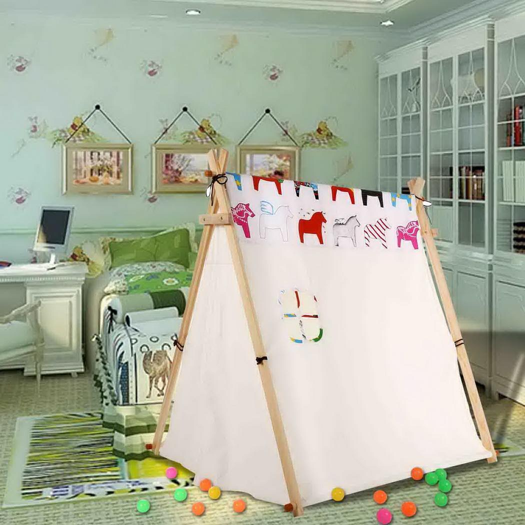 2019 Hot Sale Newest Children Tents Portable Folding Outdoor Castle Tent Childrens Play House Indian Triangle Tents Kids Gift2019 Hot Sale Newest Children Tents Portable Folding Outdoor Castle Tent Childrens Play House Indian Triangle Tents Kids Gift