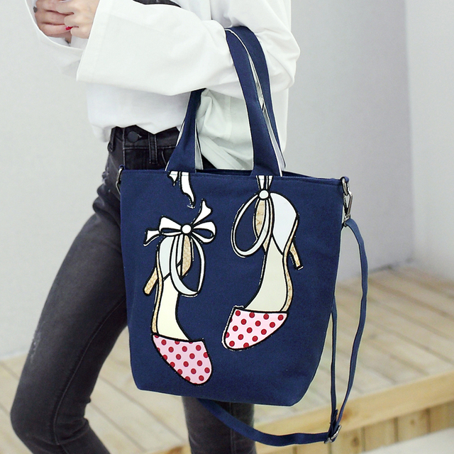 f8e85a4d00 Designer fashion women s shoulder bag 2018 new bow high-heeled shoes  embroidery large-capacity collision bag hand-held diagonal