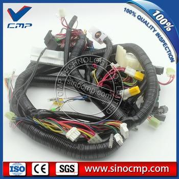 EX220-3 EX200 EX200-3 cablagem interna inner, cabo de fio para Hitachi escavadeira