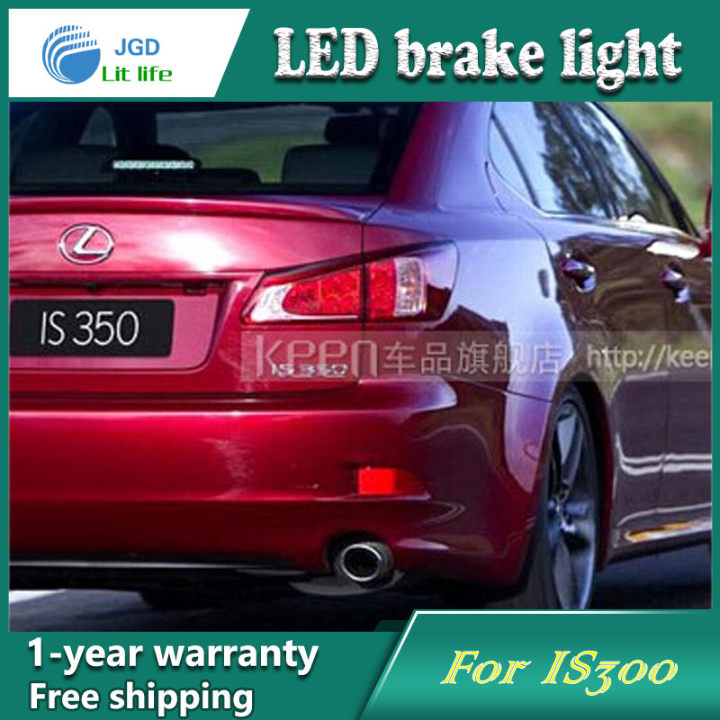 Car Styling Rear Bumper LED Brake Lights Warning Lights case For Lexus IS250 IS300 IS350 Accessories Good Quality car styling rear bumper led brake lights warning lights case for mazda atenza accessories good quality