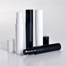 5 шт./лот 3 мл мини портативный пластиковый пробный пакет флакон духов со спреем и пустая парфюмерная пробирка с распылителем