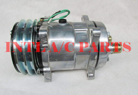US $56 0 |UNIVERSAL AC COMPRESSOR FOR Sanden 508 SD508 SD5H14 6630 4536  6676-in Air-conditioning Installation from Automobiles & Motorcycles on
