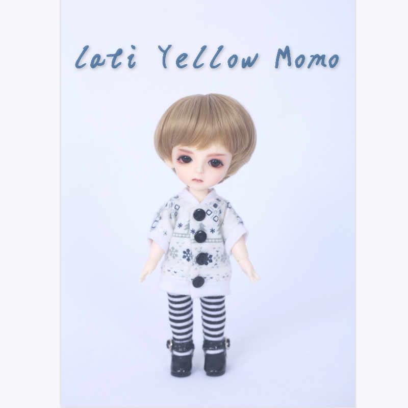 Frete grátis bjd bonecas lati amarelo ensolarado lea lami kuro coco 1/8 adorável peruca flexível roupas sapato olho pukifee oueneifs luodoll