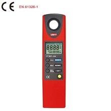 High quality UNI T UT382 Split Light Luxmeter Meters 20 20000 Lux Lumen Digital Illuminometer USB