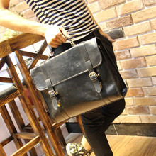 Tide restoring ancient ways box briefcase recreation bag shoulder inclined shoulder bag handbag design