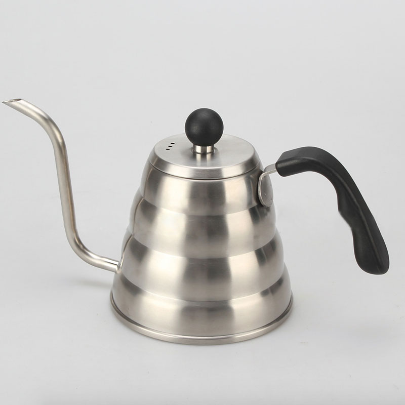 High Quality 304 Stainless Steel Coffee Pot hand 1200ml