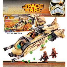 New STAR WARS Battle Gunboat 569pcs Clone War Building Blocks Bricks Action Figures Starwars Toys 8starddis