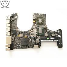 """Год 2011 материнская плата A1286 материнская плата для Macbook Pro 1"""" MD318LL/A MC723LL/A i7 2,2 ГГц используется оригинальная"""