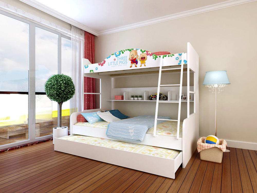 Ikazz wholesale 1 2 m 1 5 m children under the bed bunk - Wholesale childrens bedroom furniture ...