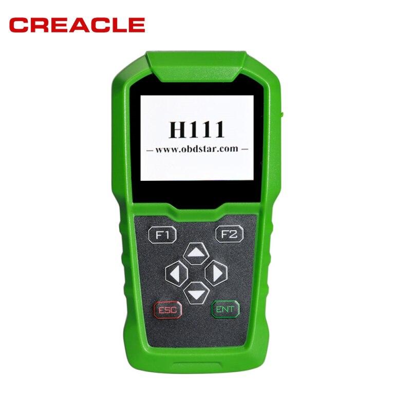 CREACLE OBDSTAR H111 Für Opel Auto Schlüssel Programmierer & Cluster Kalibrierung über OBD Extrakt PIN CODE fromBCM für OPEL Schlüssel programmierer