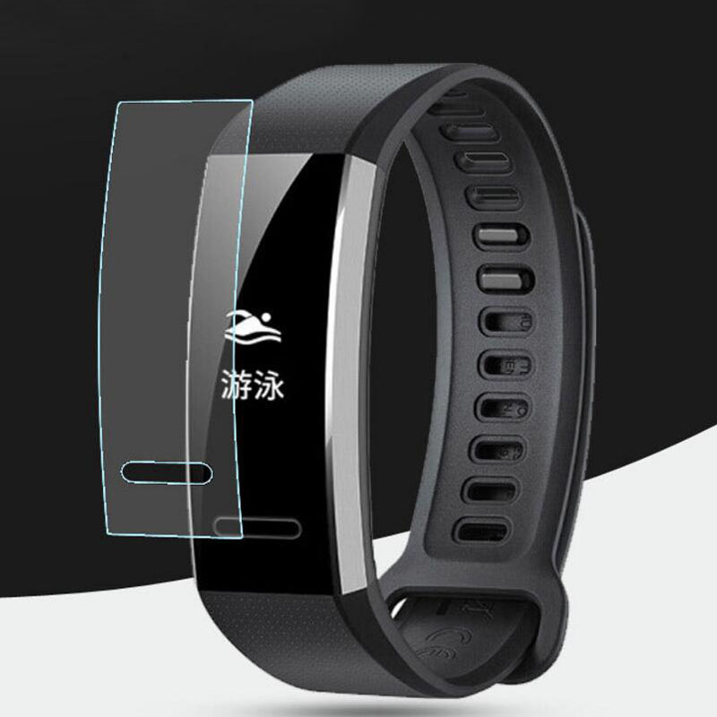 5pcs Soft TPU Clear Protective Film For Huawei Band 2 /Band2 Pro B29 B19 Eris Sport GPS Wristband Full Screen Protector Cover