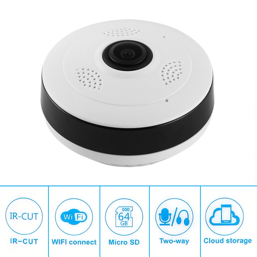 WiFi Panoramic Camera 360 Degree 1.3/2 MP 960P HD Wireless Surveillance IP Network Home Security WiFi Monitor Camera wifi panoramic camera 360 degree 1 3 2 mp 960p hd wireless surveillance ip network home security wifi monitor camera