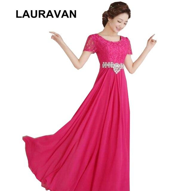 Robe de soirée modeste formelle à manches longues soirée rouge rose vif robe pour mariée avec manches robes de soirée longue moins de 100 robe