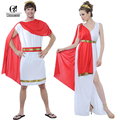 ROLECOS Brand New Men and Women Halloween Costumes Ancient Rome Nobility Cosplay Clothing Unisex Halloween Couple Costumes