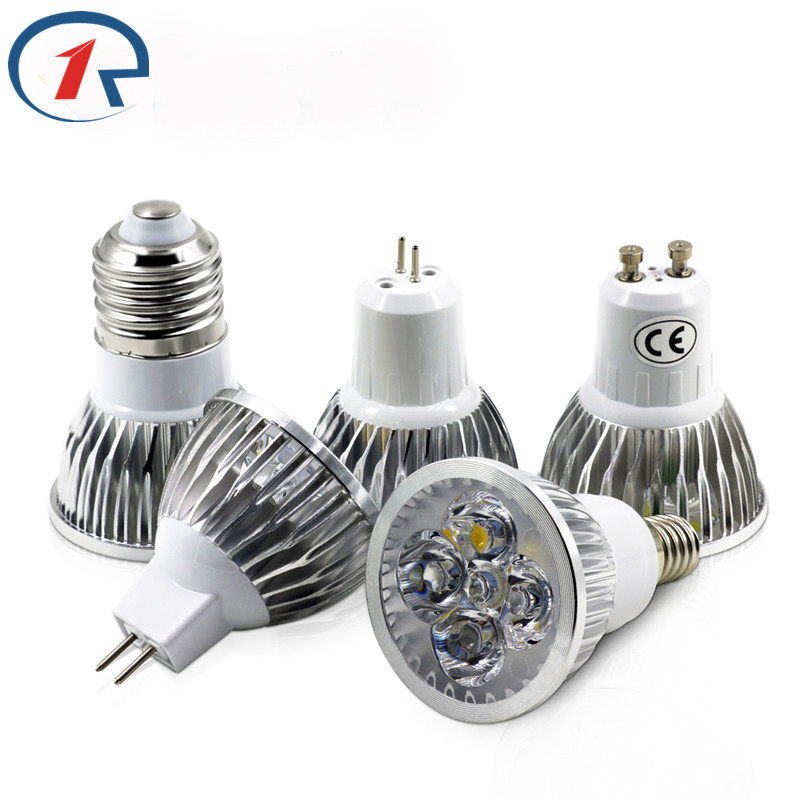 ZjRight AC85-265V Led Spotlights 3W/4W/5W Energy Saving Led Spot Light Bulb Warm white Cool White Office Hotel Family light lamp