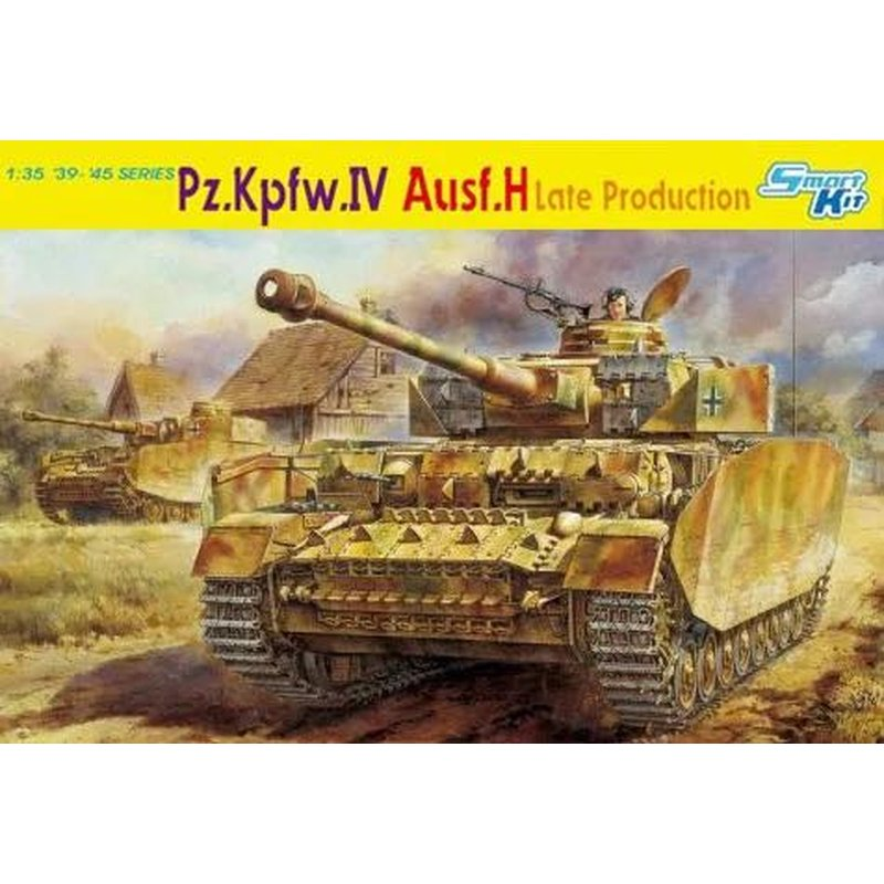 DRAGON 6300 1 35 Pz Kpfw IV Ausf H Late Production Bonus Magic tracks Scale model