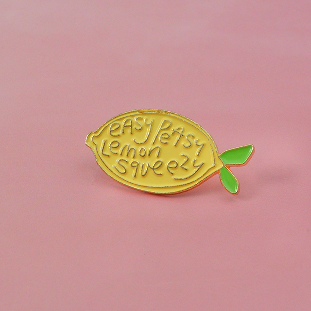 Cute Animals And Fruits collection Pin Brooches