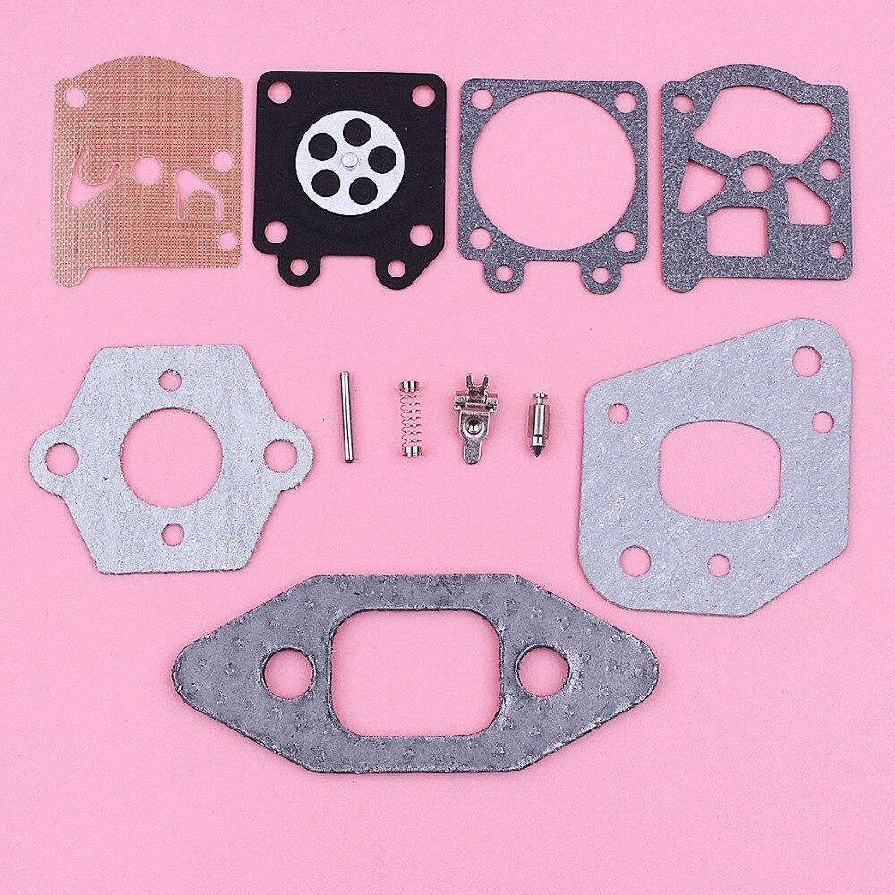 Carburetor Carb Gasket Repair Rebuild Kit For Partner 350 351 370 Chainsaw Replace Spare Tool Part