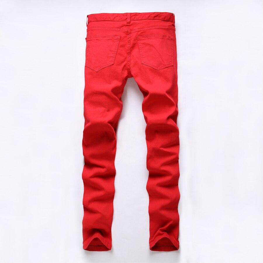 Чоботи чоловічі джинси тонкий прямий - Чоловічий одяг - фото 3