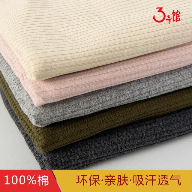Coton Tissu Fil T Shirt Mise  La Terre Chemise Pit Fil Nervure