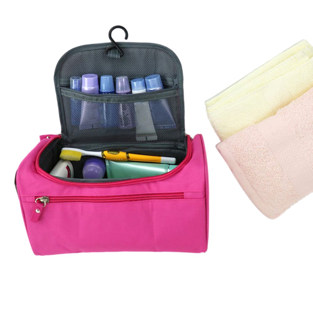 Waterproof Hanging Makeup Bag Large Capacity Travel Organizer Toiletry Cosmetics Make Up Cosmetic Case Washable Tool Kits In Eye Shadow Applicator From