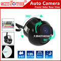Rear view camera Front Side view camera CCD HD 360 Rotation camera car styling parking detector accessories all car seat
