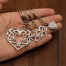 Hot Sale Heart Keychain Heart Key Chain Car Keychain Handmade DIY Women Jewelry Souvenir For Gift For Wife Graduation Gift иванов г никишин а шипилова с оптовая торговля учебное пособие