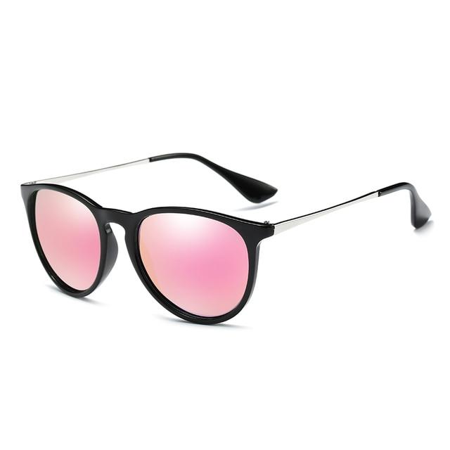 113ae3ed7a ELITERA Retro Round Polarized Sunglasses Women Brand Designer Luxury ...