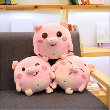 Cute Pink Fat Pig Plush Toys Stuffed Animal Pigs Doll Toy Soft Pillow Home Cushion Children Girls Gift