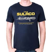 T Shirt Alien U S S SULACO Neuf Short Sleeve Casual Printed Tee Size S 3Xl