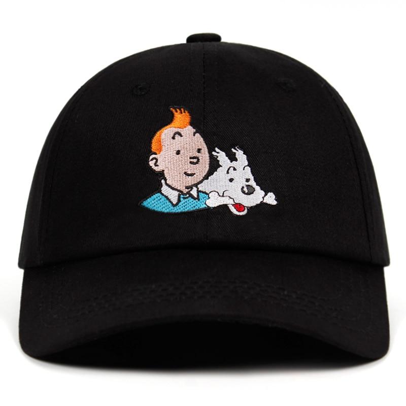 Casquette Tintin brodée