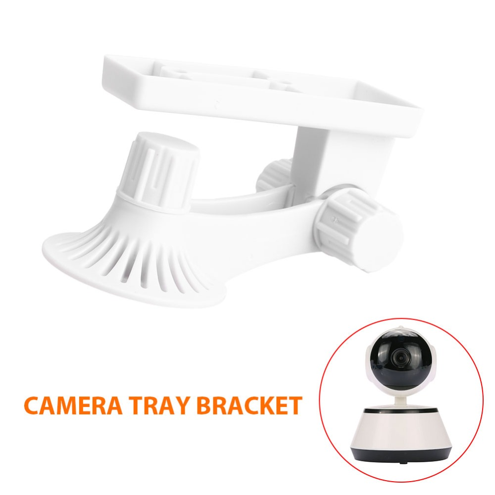 giantree Wall Mount Bracket Camera Bracket Baby monitor bracket Adjustable 180degrees Surveillance Ceiling Stand Protable Simple giantree cctv surveillance security power wall mount bracket camera bracket simple metal ceiling stand abs metal stand white