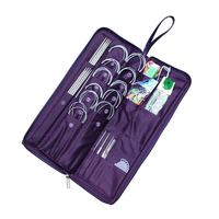 135 Pcs Durable Needles DIY Travel Crochet Hook Accessories Home Convenience Stainless Steel Mini Repair Portable Sewing Kit