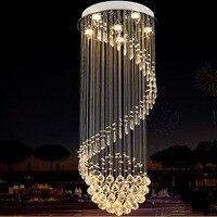 T LED Bulbs Modern Creative Ceiling Light Luxury Crystal For Stairs Restaurant Living Room Home Lighting